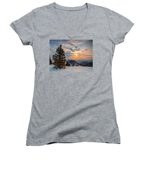 Fresh Morning Women's V-Neck T-Shirt
