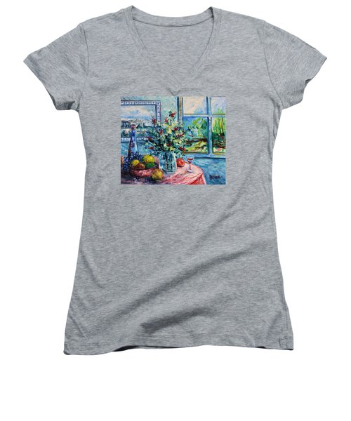 Fresh Spring Women's V-Neck (Athletic Fit)