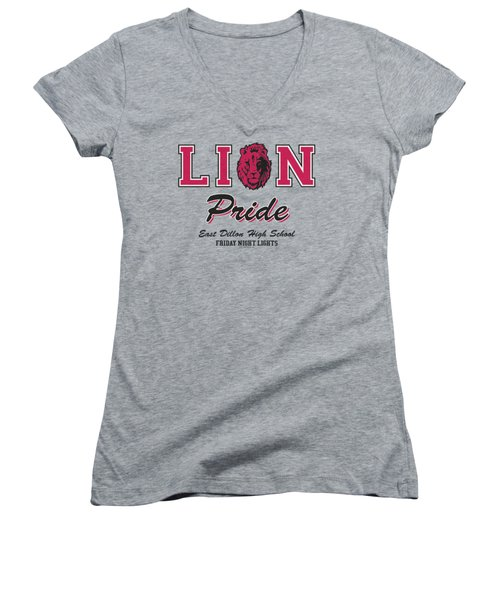 Friday Night Lights - Lions Pride Women's V-Neck (Athletic Fit)