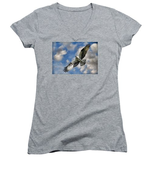 From The Clouds Women's V-Neck T-Shirt