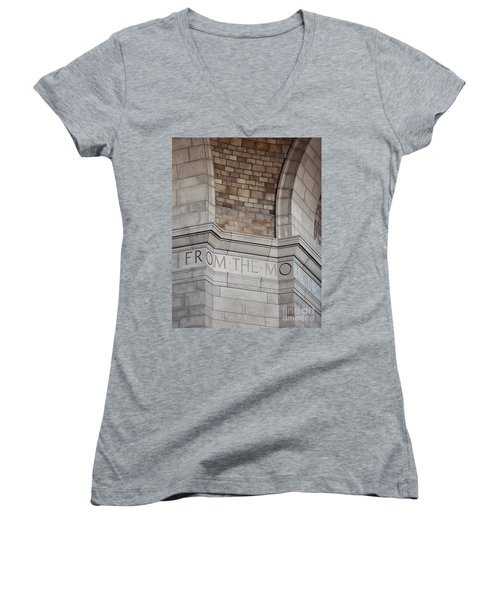 From The Moral... Women's V-Neck