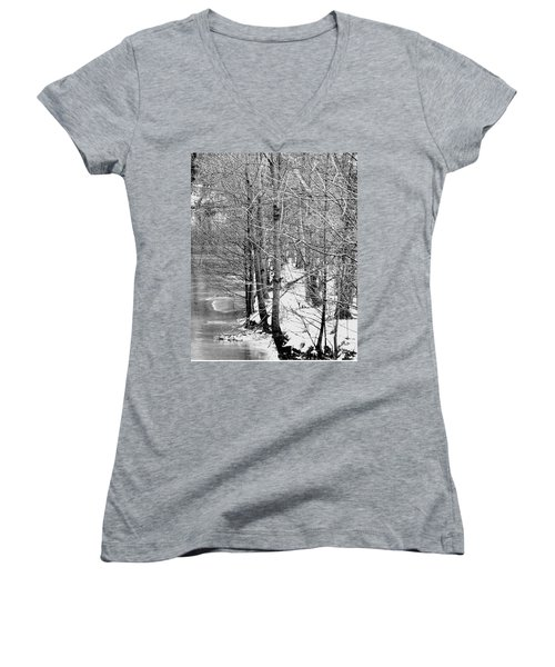 Frosty Morning Women's V-Neck