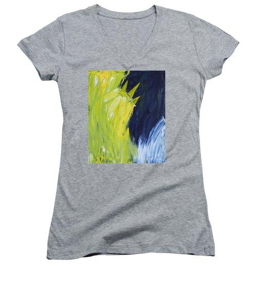 Frozen Liberty Women's V-Neck T-Shirt