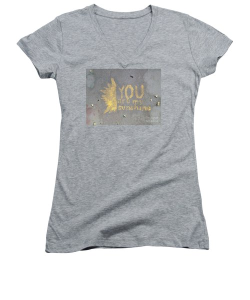 Gabi Women's V-Neck T-Shirt (Junior Cut) by Joseph Yarbrough