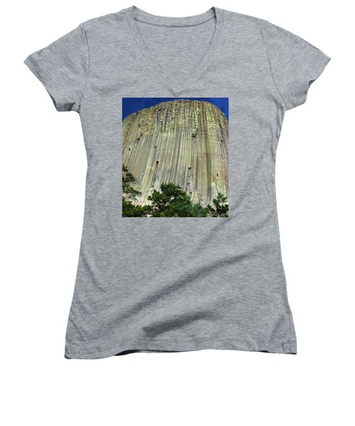 Geology Triptych - Two Women's V-Neck (Athletic Fit)