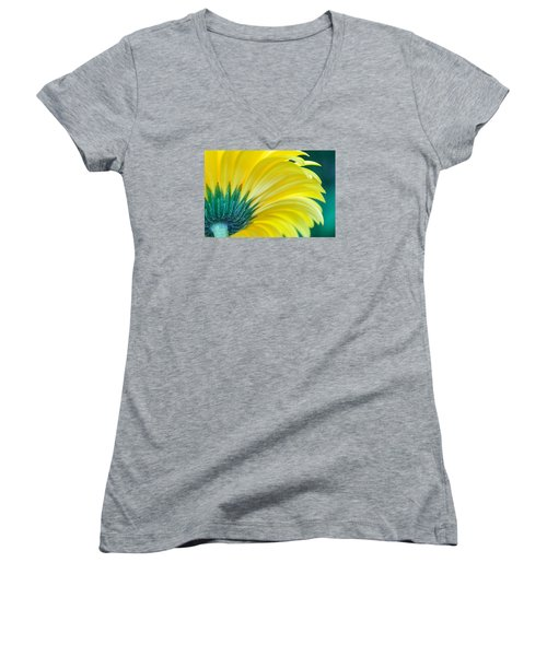 Gerber Daisy Women's V-Neck