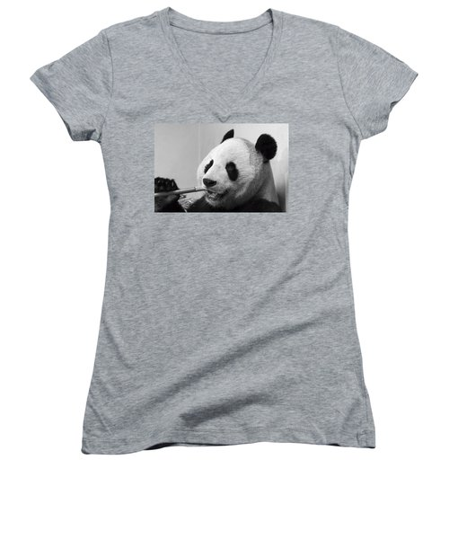 Giant Panda Women's V-Neck