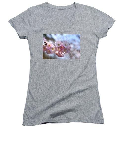 Giving Thanks Women's V-Neck T-Shirt