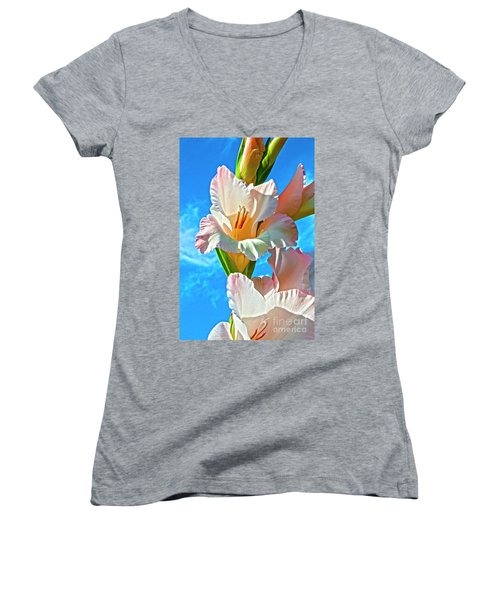 Gladiolus Women's V-Neck