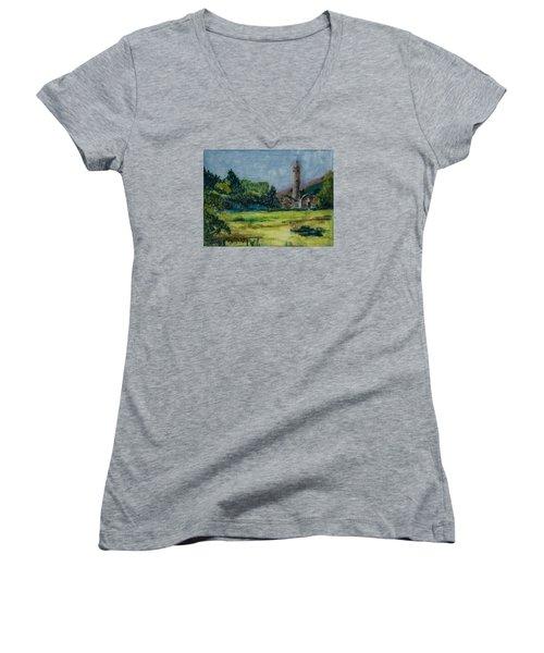 Glendalough Women's V-Neck T-Shirt