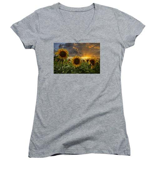 Glory Women's V-Neck T-Shirt