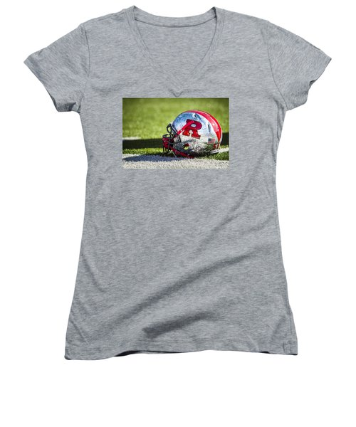 Go Rutgers Women's V-Neck T-Shirt