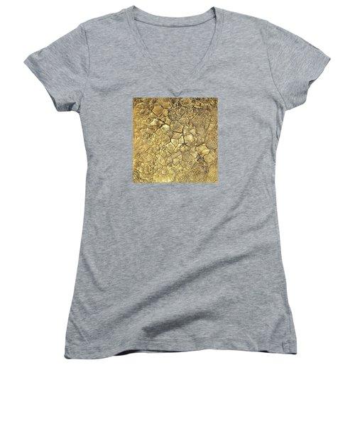 Gold Fever 1 Women's V-Neck T-Shirt