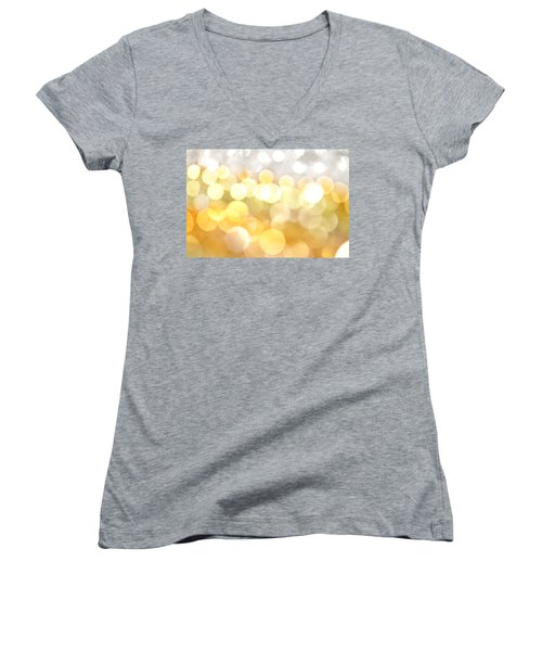 Gold On The Ceiling Women's V-Neck