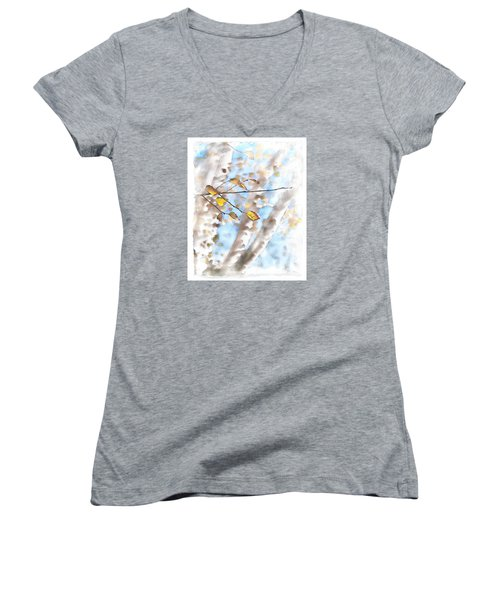 Golden Birch Women's V-Neck T-Shirt