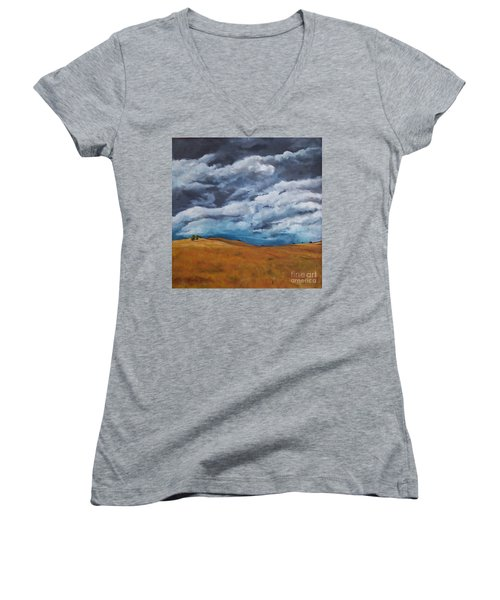 Golden Fields Women's V-Neck (Athletic Fit)