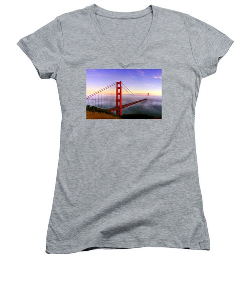 Golden Gate Women's V-Neck (Athletic Fit)