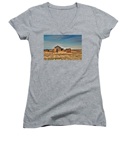 Golden Hay Women's V-Neck T-Shirt