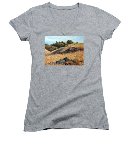 Golden Hills Women's V-Neck T-Shirt