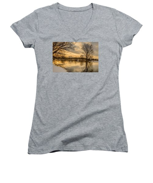 Golden Light Women's V-Neck