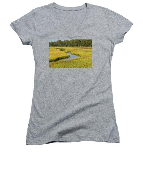 Golden Marsh Women's V-Neck