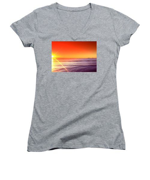 Good Night Sun Women's V-Neck