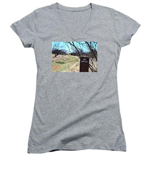Got Water Women's V-Neck T-Shirt