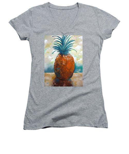 Graciousness Women's V-Neck T-Shirt (Junior Cut) by Gary Smith