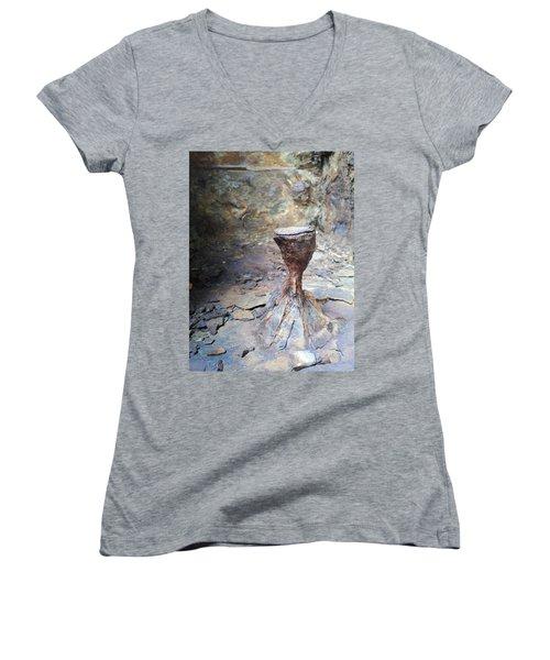 Grail Women's V-Neck T-Shirt