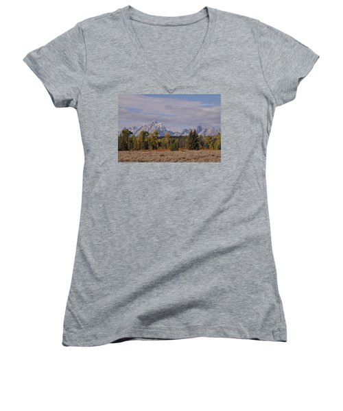 Grand Teton Women's V-Neck