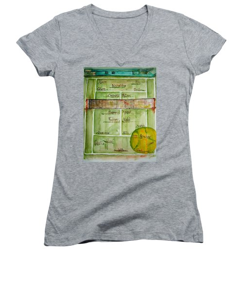 Grass Greats Women's V-Neck (Athletic Fit)