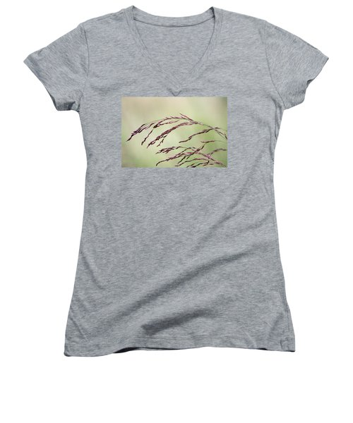 Grass Seed Women's V-Neck (Athletic Fit)