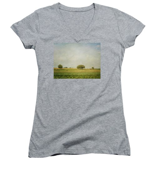Grazing Women's V-Neck