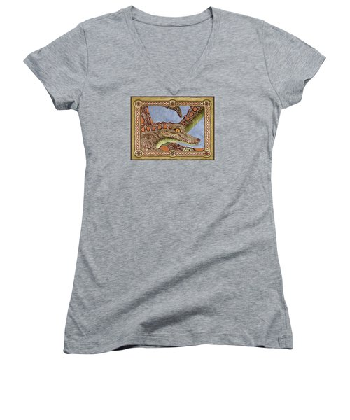 Great Grandmother Combped Women's V-Neck T-Shirt