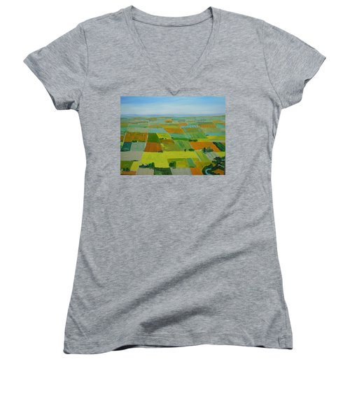 Great Plains Women's V-Neck T-Shirt