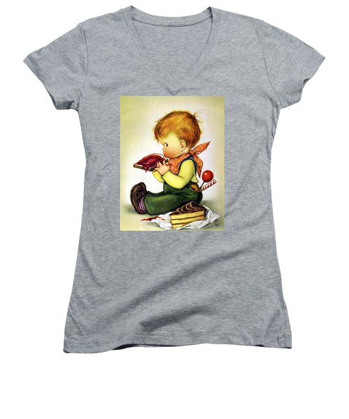 Greedy Petey Women's V-Neck