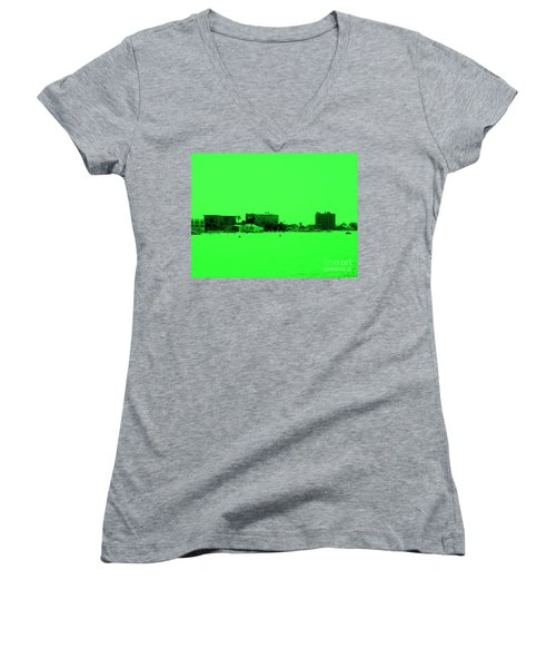 Green View. Special... Women's V-Neck (Athletic Fit)