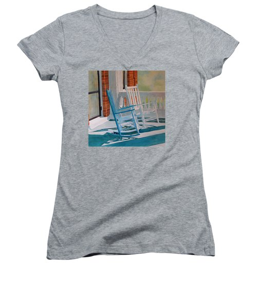 Growing Old Together Women's V-Neck