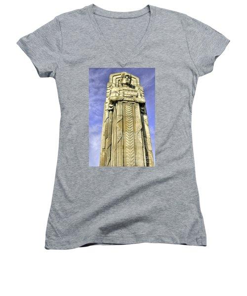 Guardian Of Traffic - 5 Women's V-Neck T-Shirt