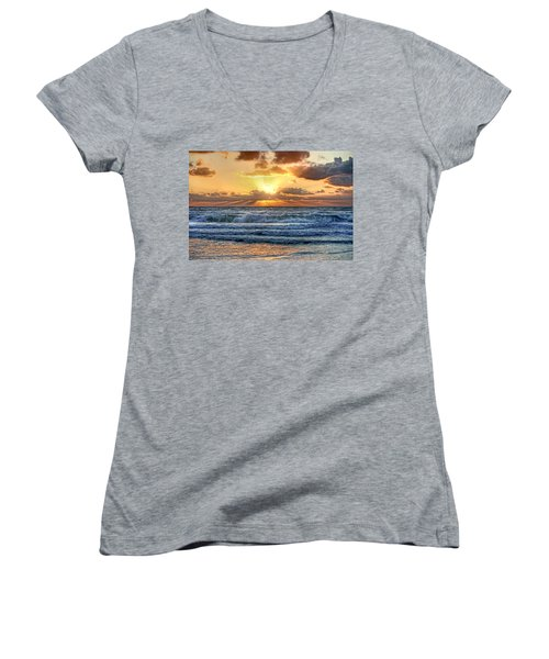 Gulf Waters Women's V-Neck (Athletic Fit)