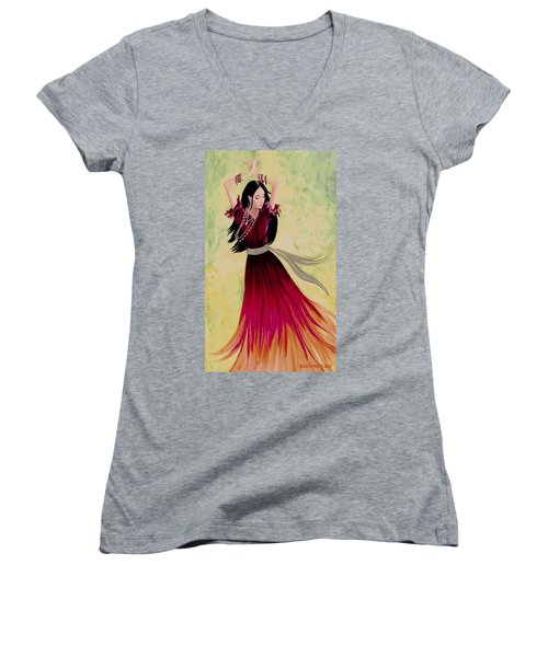 Gypsy Dancer Women's V-Neck
