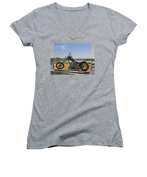 H-d_a Women's V-Neck T-Shirt