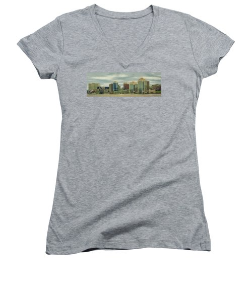 Halifax From The Harbour Women's V-Neck T-Shirt