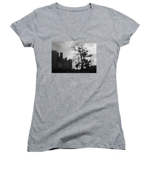 Hampton Court Tree Women's V-Neck T-Shirt