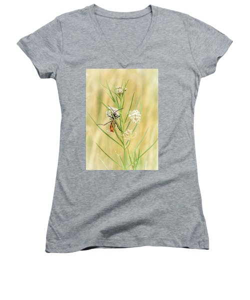 Hanging On Women's V-Neck T-Shirt