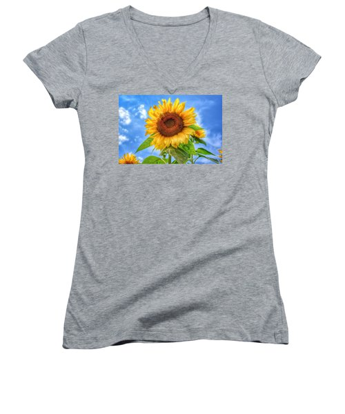 Happiness Is...... Women's V-Neck (Athletic Fit)