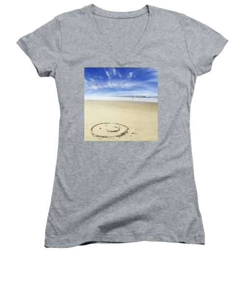 Happiness Women's V-Neck T-Shirt
