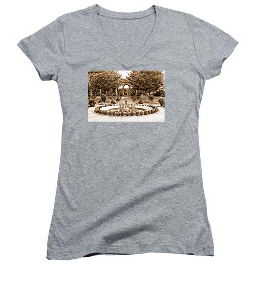 Harkness Estate Women's V-Neck T-Shirt (Junior Cut) by Marcia Lee Jones