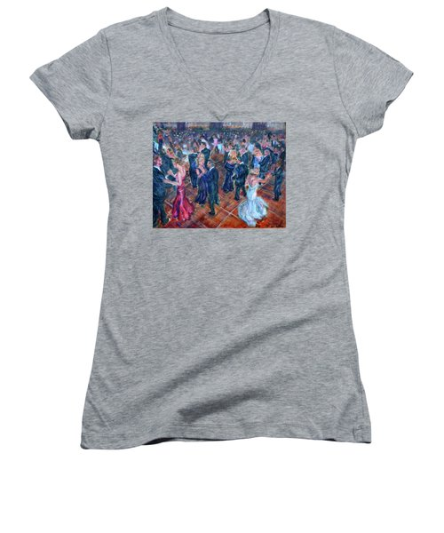 Having A Ball - Dancers Women's V-Neck