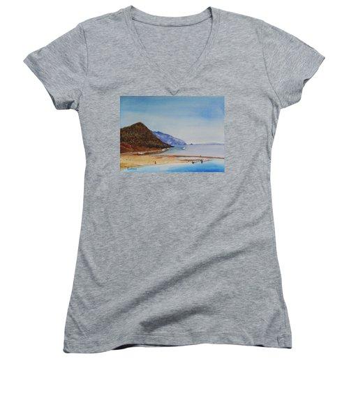 Hawaii Women's V-Neck T-Shirt